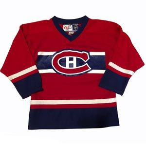 Montreal Canadiens Habs Kids Youth Jersey
